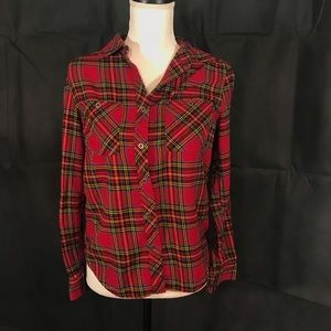 L.A. Hearts Red Flannel Shirt